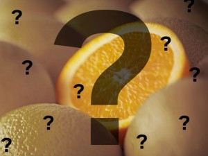 Orange , asal Orange