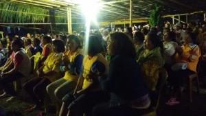 Terbukti Bangun Tomohon, Warga Pangolombian-Tondangow Pilih EMAS