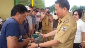 Walikota Tomohon ,Jimmy F Eman SE Ak, Pasar Kilat, Ruddy A Lengkong SSTP