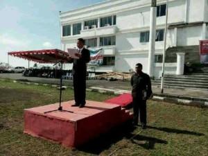 Wabup Ronald Kandoli Irup Upacara Hari Pahlawan ke-70 di Mitra