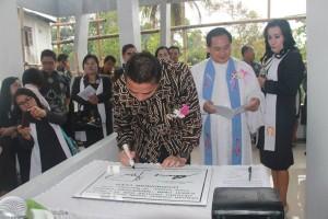 Jimmy Eman, GMIM Nimahesaan Pinaras