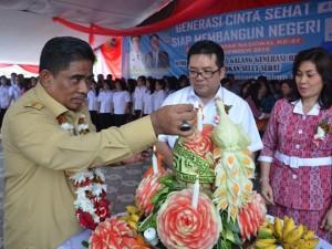 Hari Kesehatan Nasional, dr. Jemmy M Lampus , Balai Kesehatan Mata, dr Diana Watania.