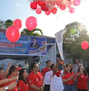 Pencanangan HKN ke-51 Provinsi Sulut