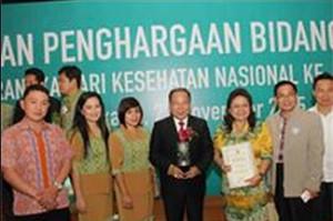 Tomohon Terima Penghargaan Kota Sehat Kategori Swasti Saba Wiwerda