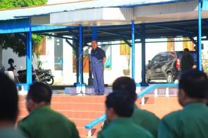 Apel Perdana Natal, Sekkot Bitung Ingatkan SKPD Soal Laporan Keuangan