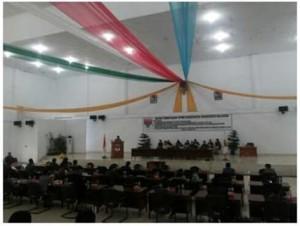 DPRD Minsel Sukses Laksanakan Paripurna Usul Pemberhentian Bupati dan Wakil Bupati Minsel