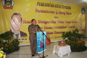 Dinas Pendidikan Daerah, Dikda tomohon