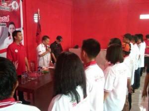 Taruna Merah Putih,  Torry Kojongian, Juneidy Kawengian, pilkada 2015, OD-SK,