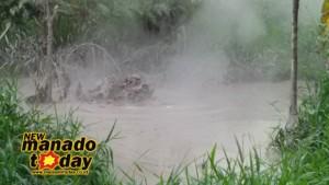 Mirip Lumpur Lapindo Muncul di Cluster 24 Tondangow Tomohon Selatan