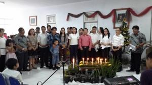 Dinas Tarumansa Gelar Ibadah Menyambut Natal