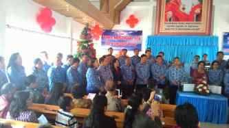 Ibadah Pra Natal , Marawas , Pemkab Minahasa