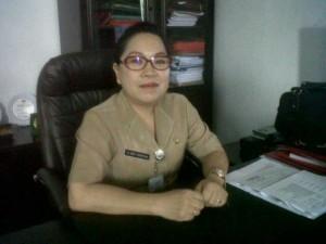 Kepala dinas kesehatan dr rini tamuntuan