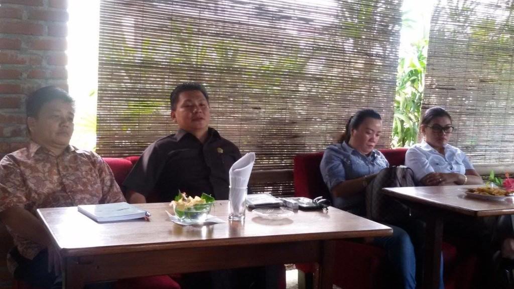 Fraksi Demokrat, DPRD Tomohon, Ir Jimmy Wewengkang MBA, Katherina Polii SIK ,Cherly Mantiri SH