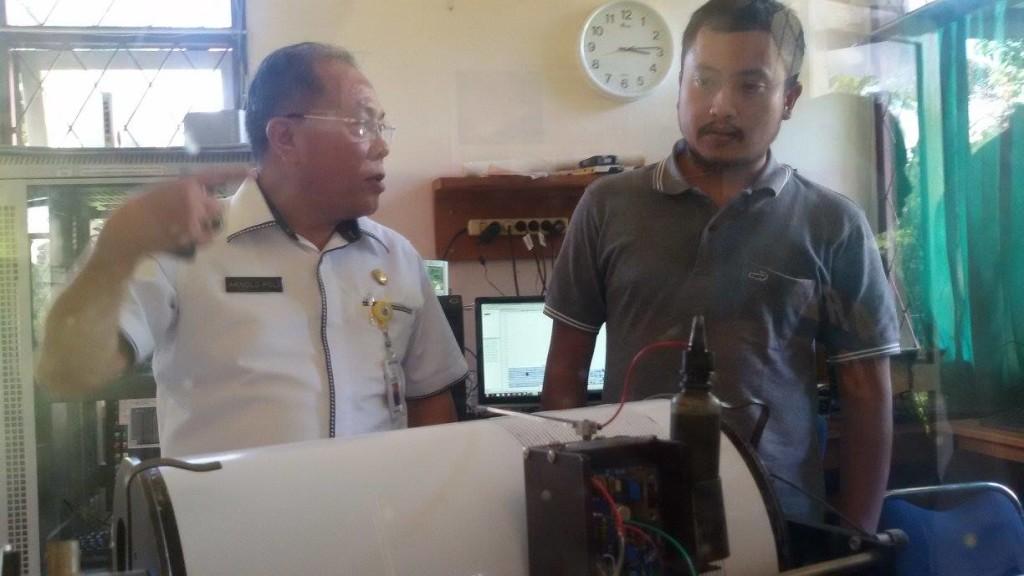 Dr Arnold Poli SH MAP, Gunung Lokon