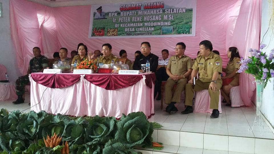 Penjabat Bupati , Ir Peter Rene Hosang MSi, Masyarakat Ekonomi Asean