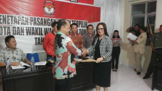 KPU serahkan hasil pleno kepada calon terpilih
