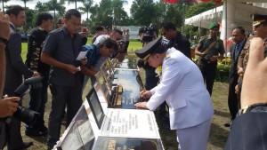 Parengkuan Irup Peringatan HUT ke-13 Kota Tomohon1
