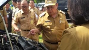 Drs Sanny James Parengkuan MAP, Kendaraan Dinas, Pemkot Tomohon
