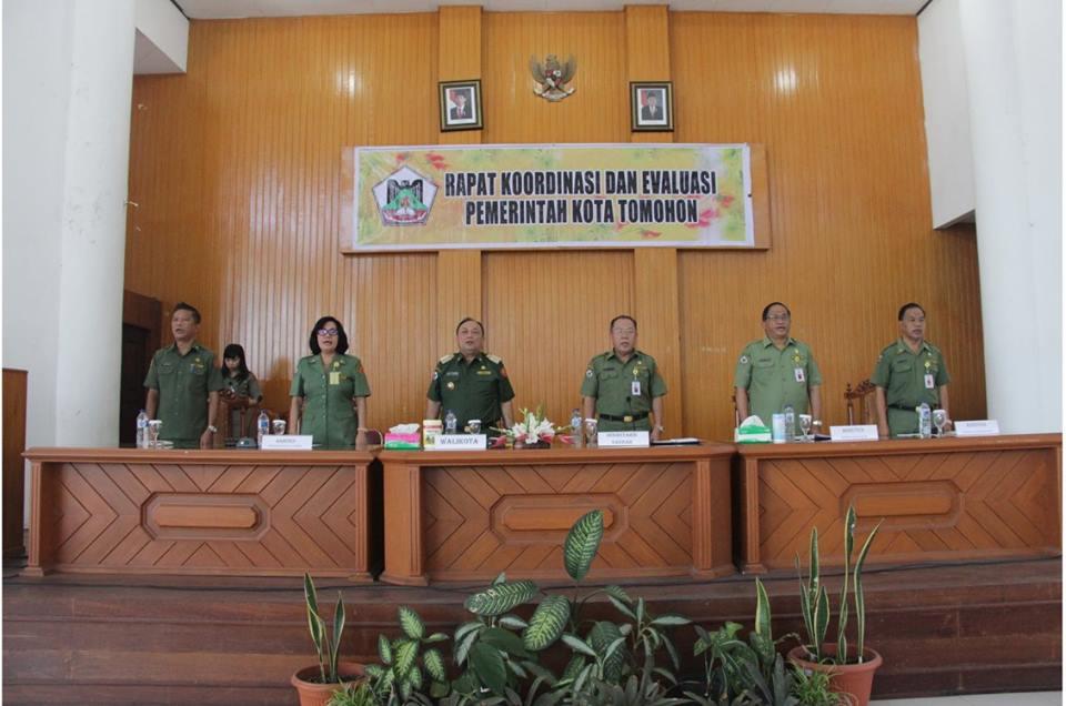 Walikota Tomohon, Drs Sanny James Parengkuan MAP, SKPD