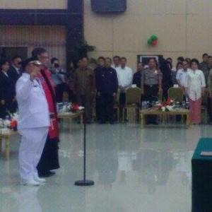 Sanny Parengkuan,  Penjabat Walikota Tomohon