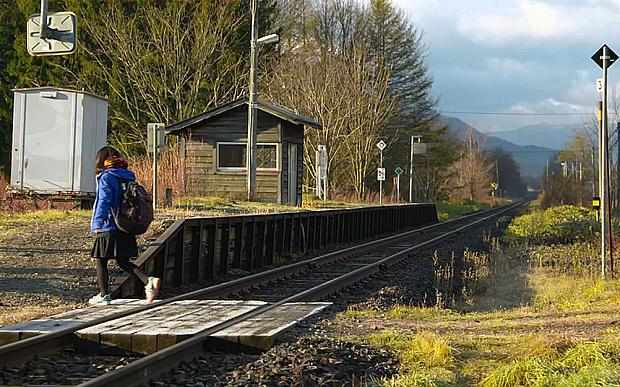 Jepang , Hokkaido Railway Co, kereta jepang