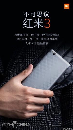Xiaomi , Redmi 3