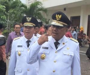 Gubernur dan Wakil Gubernur Sulut.
