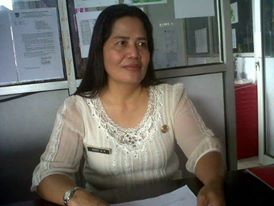 Disperidagkop , Minahasa Tenggara ,  Dra Marie Makalow