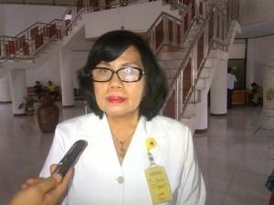 Dra Truusje Kaunang , pelantikan Walikota tomohon