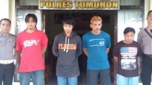 Polres Tomohon,Pencuri Sapi,  AKP AR Faudji SH MH ,  AKP Ali Tahir