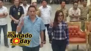 Drs John Palandung,  Pelantikan Walikota tomohon,