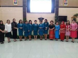 TP-PKK Sulawesi Utara,  TP PKK Minahasa Tenggara, Ny Jein Sumendap-Rende SE Ak