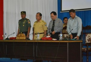 Polres Bitung ,  AKBP Bambang Dwijatmiko,  Letkol Inf Rofiq Yusuf SSos,