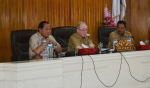 Drs John Heit Palandung MSi, Walikota Bitung
