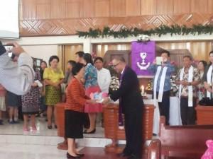 Rondonuwu Pimpin Ibadah HUT ke-23 Remaja GMIM Bait-El Kamasi