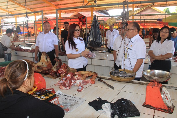 SAS Sidak Pasar Tomohon