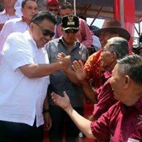 Gubernur Sulawesi Utara, Olly Dondokambey,Tonaas Wangko, Um Banua Minahasa,dr Bert Supit,