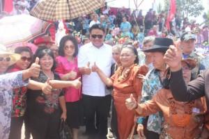 Sosok Gubernur Olly Dondokambey dikenal dekat dengan masyarakat di Minahasa Tenggara