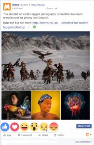 facebook, reaksi baru facebook,