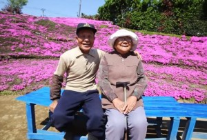 Kakek dan Nenek Kuroki (foto: YouTube)