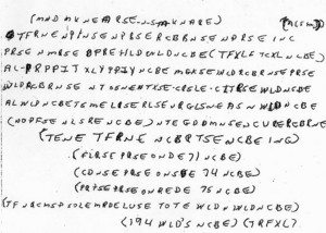 Ricky McCormick, kode rahasia