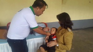 PIN Polio 2016, Tomohon