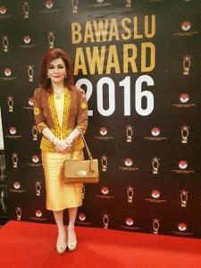 Bupati Minsel, Bawaslu Awards 2016,