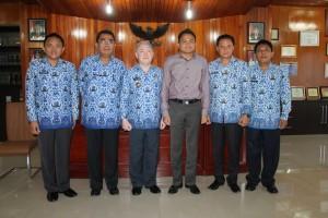 Ronald Kandoli, John Palandung,DR Hermanus Bawuoh,