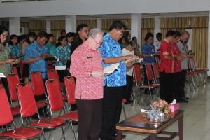 ibadah Oikumene, Pemkot Bitung, Drs Jhon Palandung,