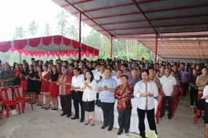 Ibadah diikuti Jajaran SKPD