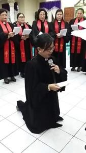 Sinode GMIM, Dr HWB Sumakul STh, Pdt Stevanie Sandala STh, GMIM Exodus Kumelembuai