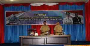 Forum SKPD, Bappeda Pemkot Bitung ,Albert Sarese,