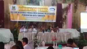 Sekkot Tomohon,  Dr Arnold Poli SH MAP, Barang Milik Daerah