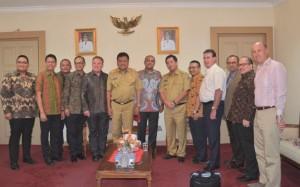 Pengusaha Australia , Pariwisata Sulut , Mr Debnath Guharoy , Australia Indonesia Business Cuncil